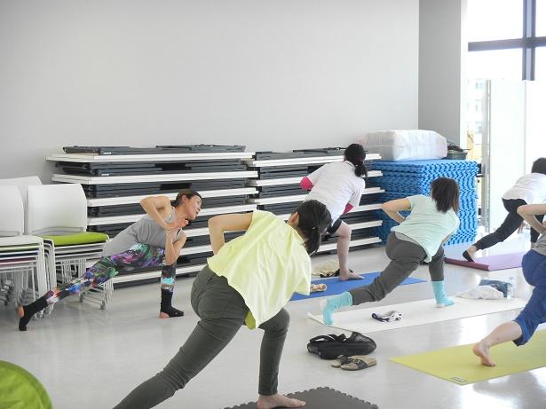 【開催レポート】体幹力UPヨガ ~インナーマッスルを鍛える!~