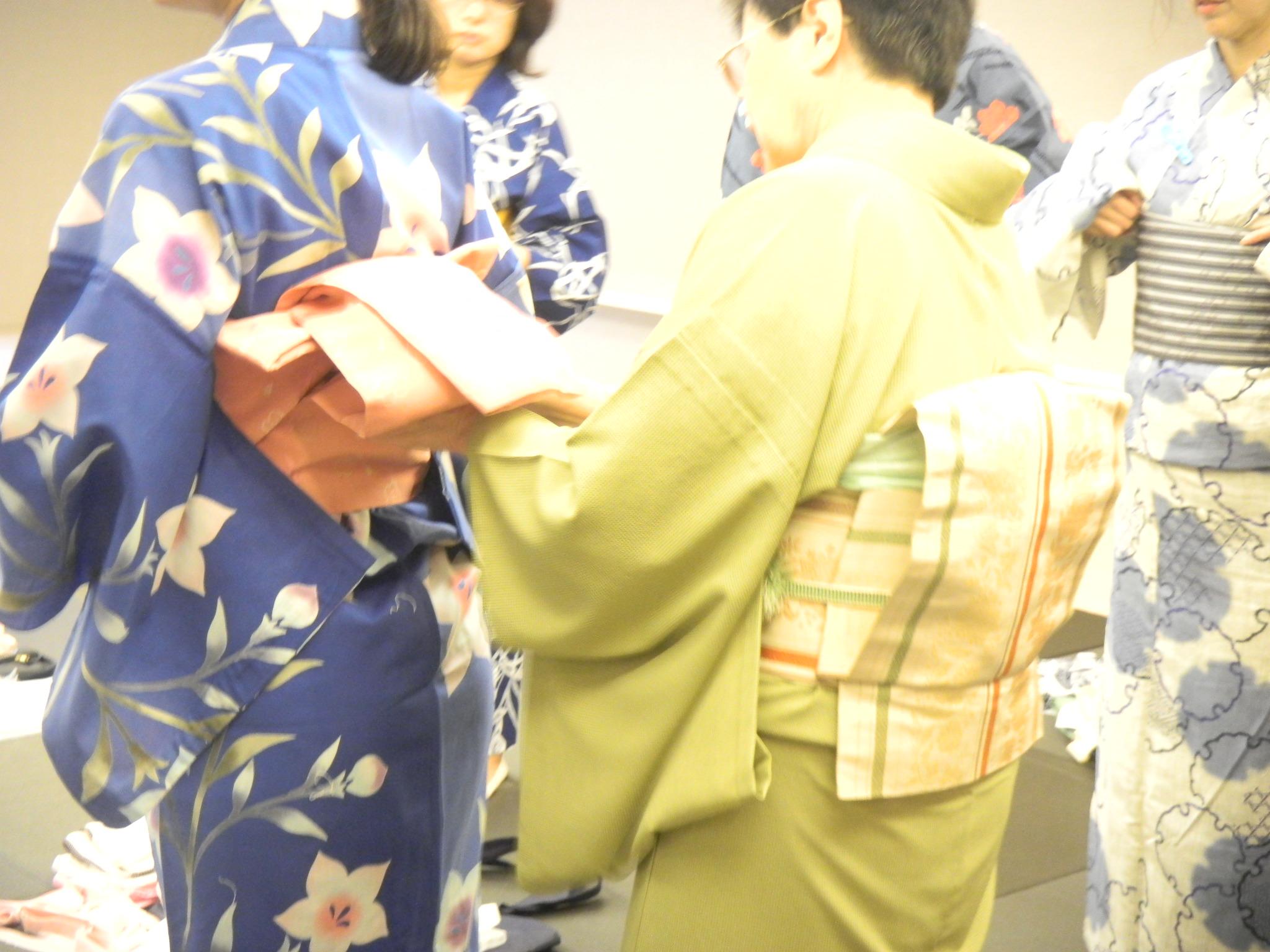 【開催レポート】浴衣の着付け教室~着付けの基礎とコツ~