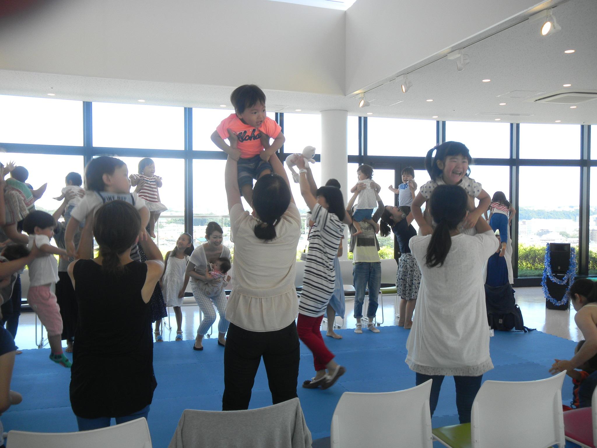 【開催レポート】リトミック教室        ミュージックパーティー♪