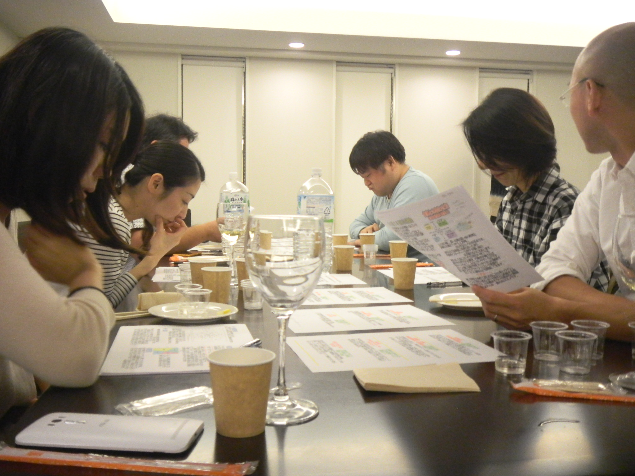 【開催レポート】日本酒飲み比べ!利き酒会