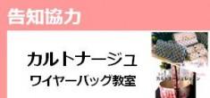 【6月の告知協力】カルトナージュ・ワイヤーバッグ教室