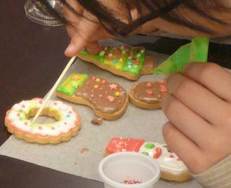 【開催レポート】クリスマスデコレーションクッキー教室