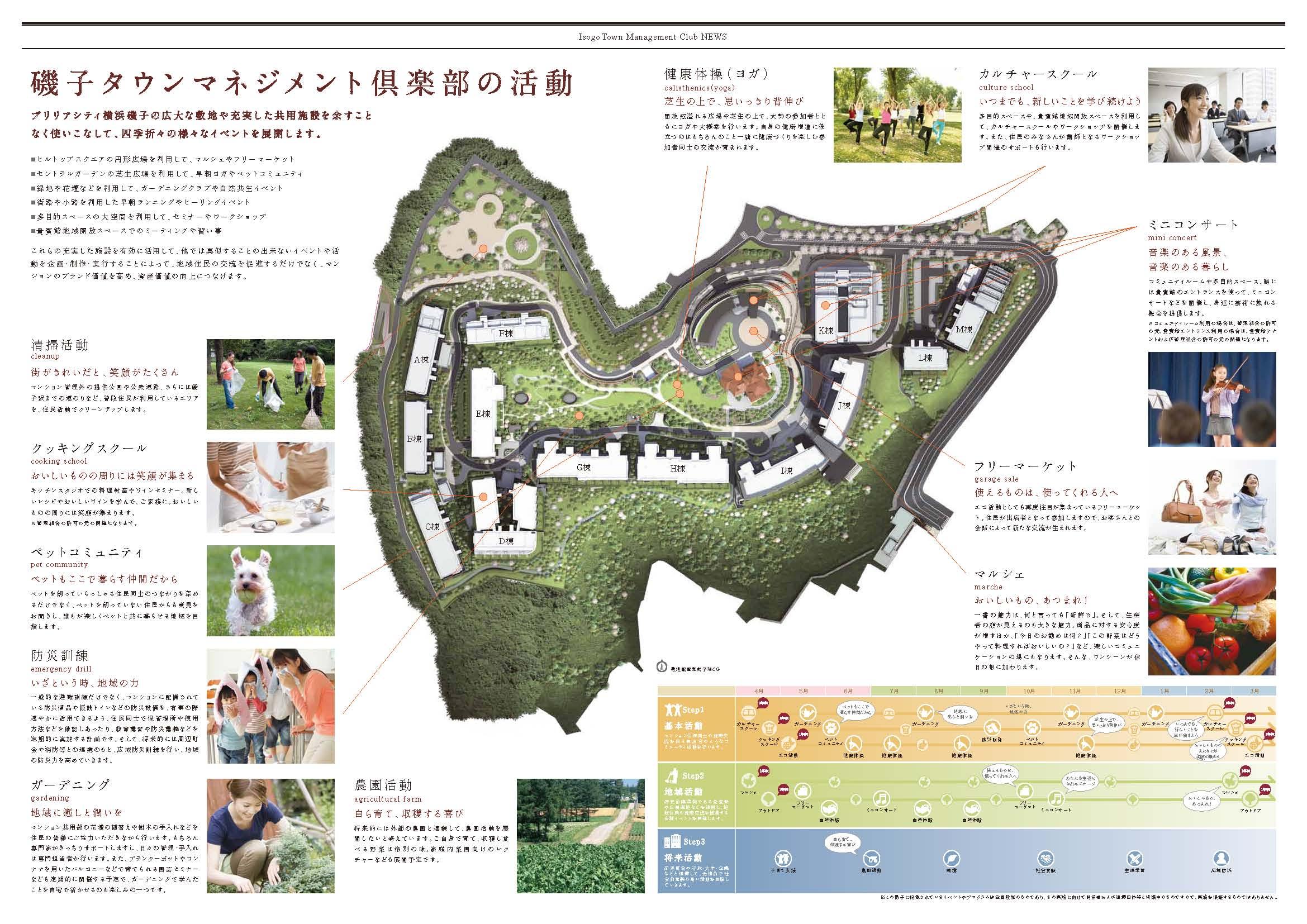 磯子タウンマネジメント倶楽部 パンフレット