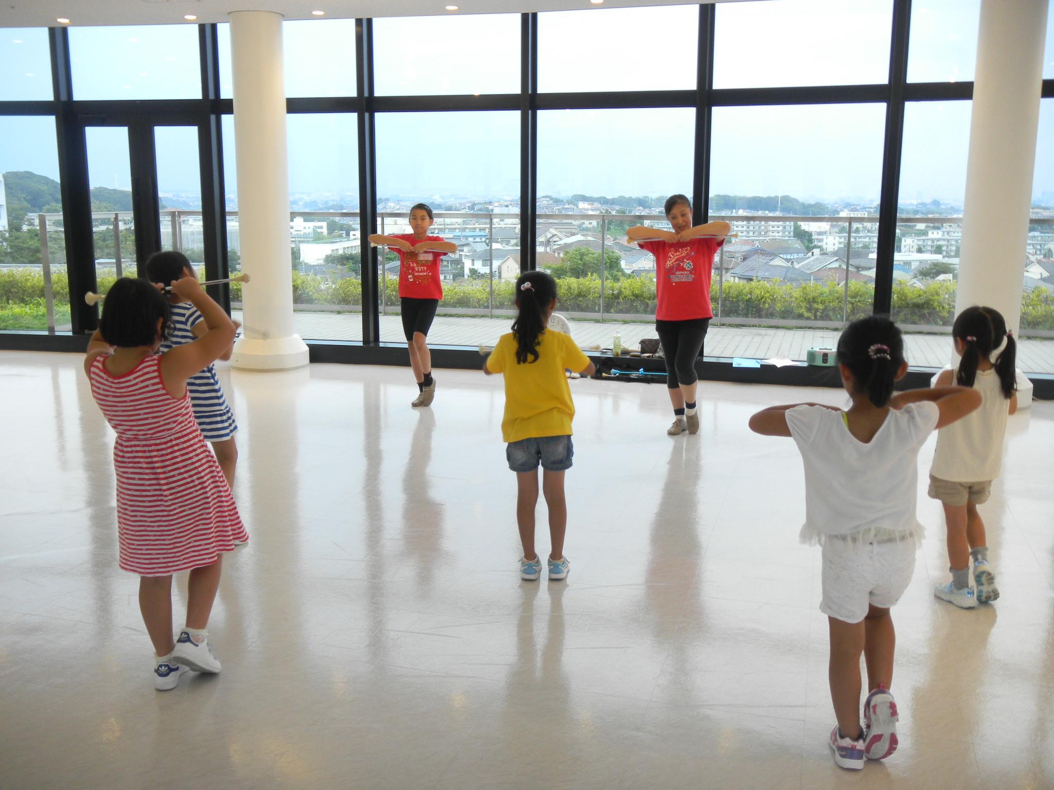 【開催レポート】バトントワーリング教室