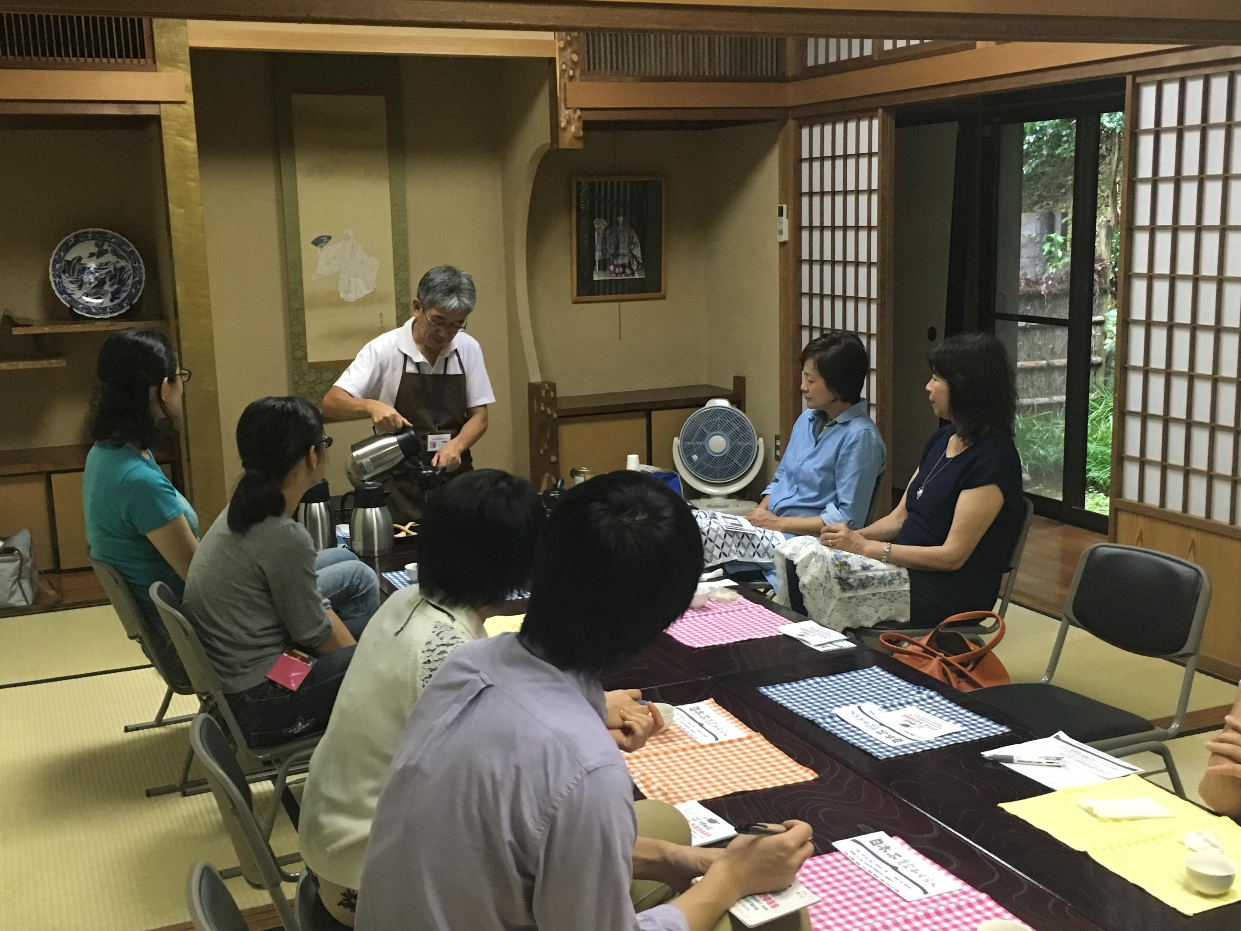 【開催レポート】久良岐能舞台で楽しむお茶会