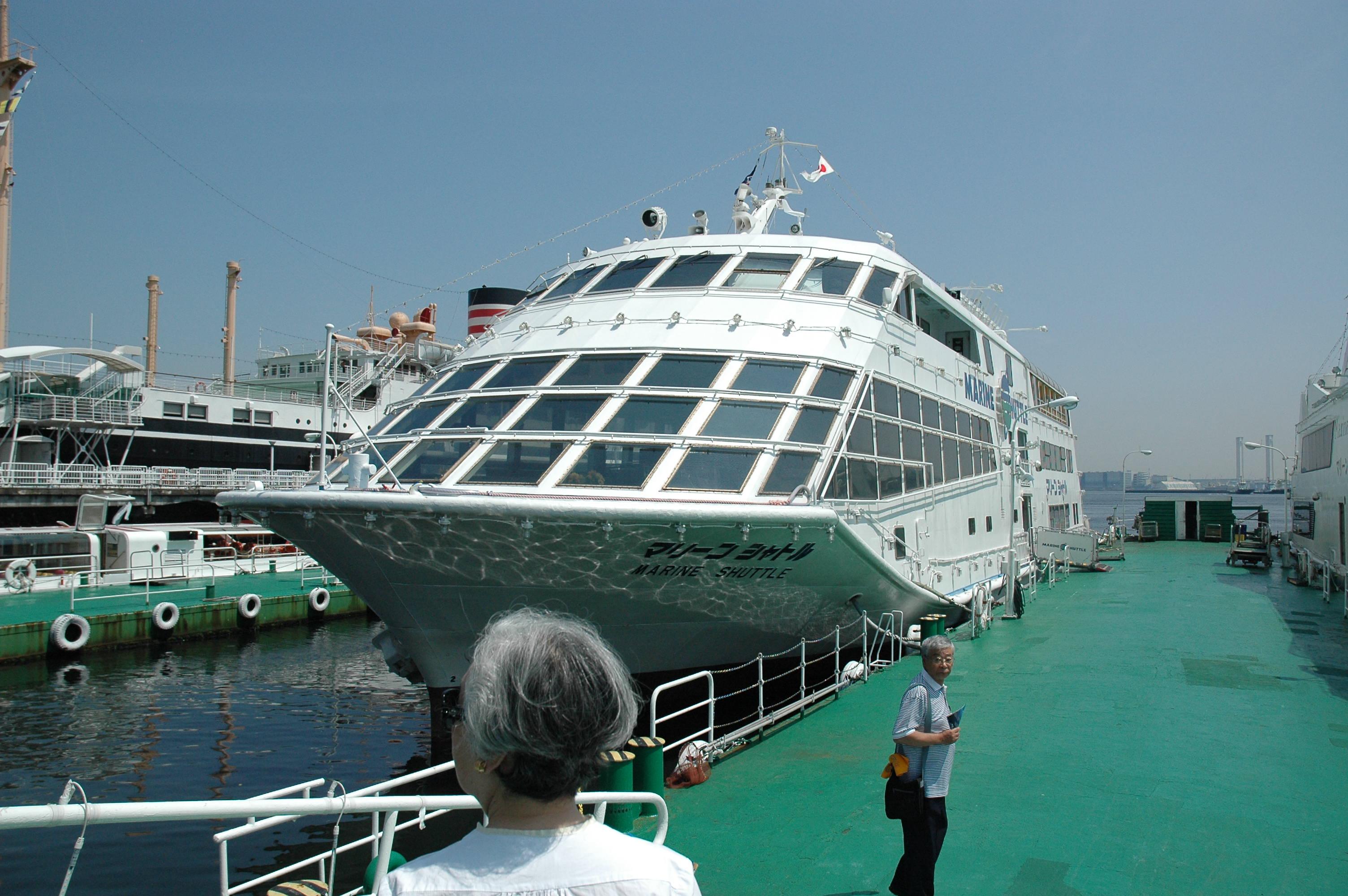 【開催レポート】マリーンシャトルに乗船!横浜港見学会