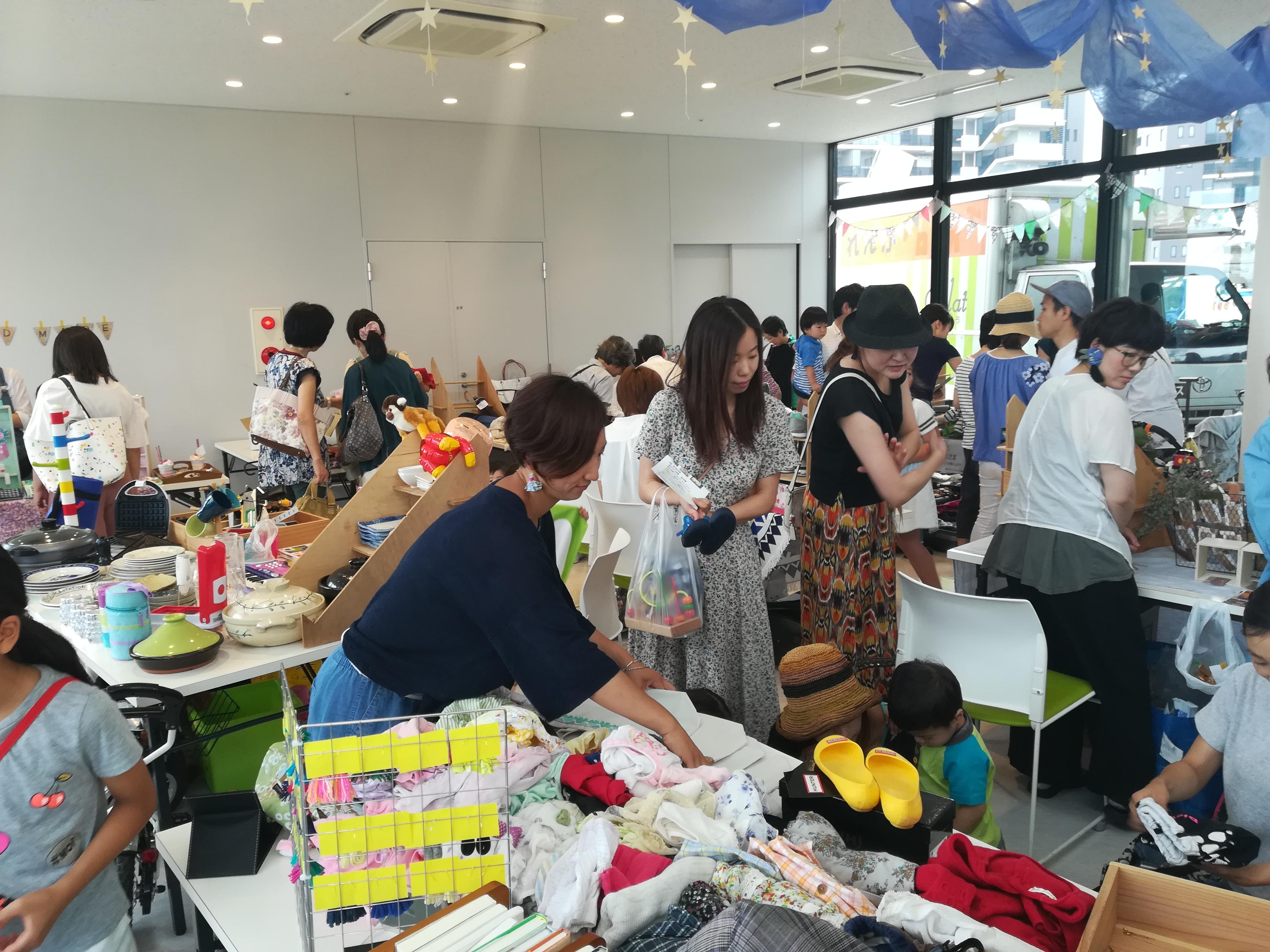 【開催レポート】ブリリアフリーマーケット♪