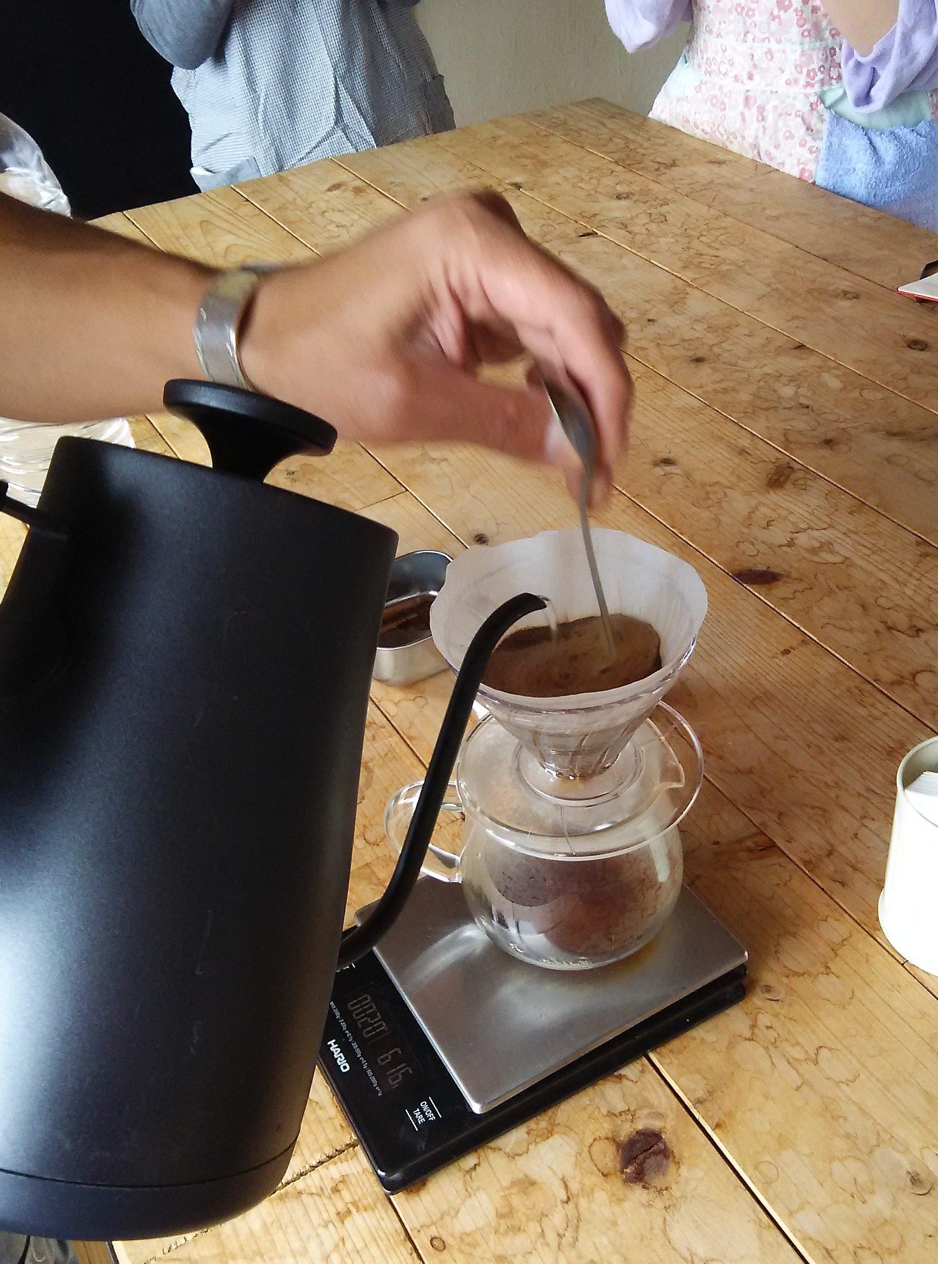 【開催レポート】tsukikoyaで学ぶコーヒー講座