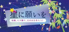 七夕☆彡星に願いを
